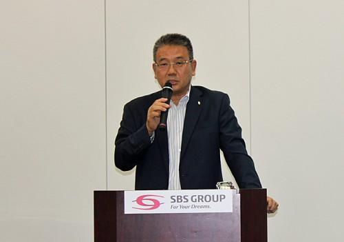 SBSHDの鎌田正彦社長
