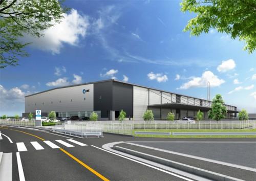 20150827cre 500x354 - CRE/埼玉県羽生市に3.8万m2の物流施設を着工
