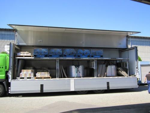 コイル状貨物・変形貨物での導入事例