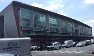事務所が入居する空港内ビル