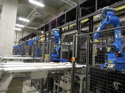 TBC埼玉でのピッキングにロボットを活用