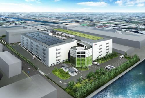 20150907nittsu21 500x338 - 日通/江東区の大型物流拠点名称、「Tokyo C-NEX」に決定