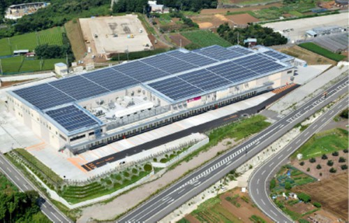 長泉流通センターの鳥瞰写真