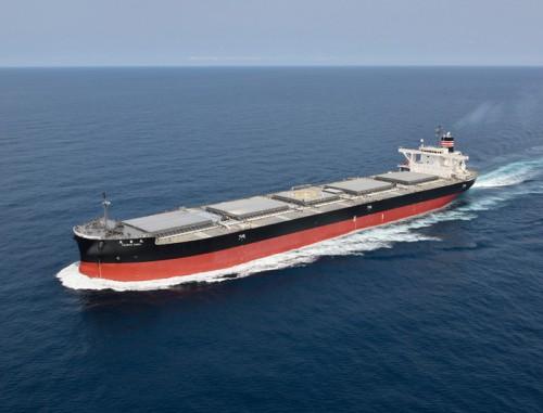 20150929nyk 500x381 - 日本郵船/中部電力向け石炭専用船が竣工