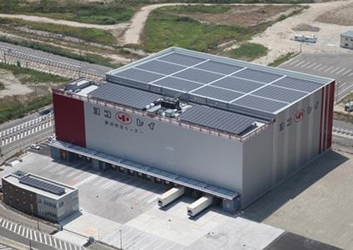 20151014yokorei1 500x355 - ヨコレイ/日本冷凍空調学会が夢洲物流センターを視察