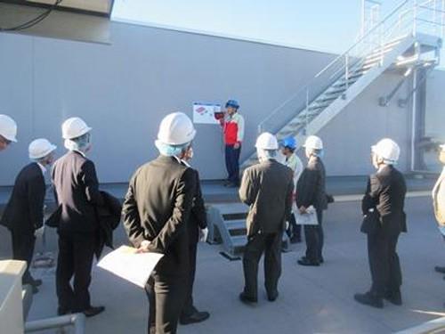 20151014yokorei3 500x375 - ヨコレイ/日本冷凍空調学会が夢洲物流センターを視察