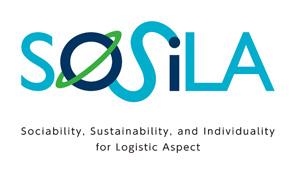 物流施設の新しいブランドのロゴ