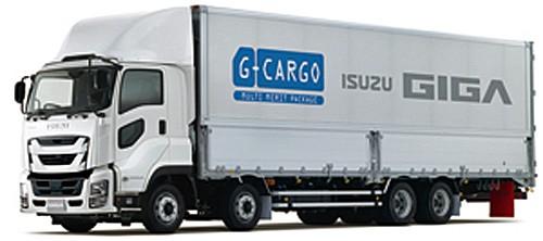 大型トラック「ギガ」