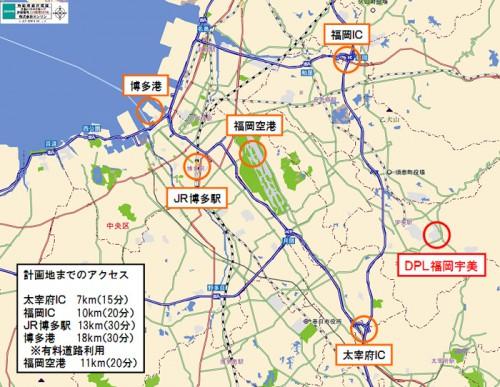 20151119daiwah2 500x387 - 大和ハウス/福岡県に延床11万m2の大型マルチテナント型物流施設を着工