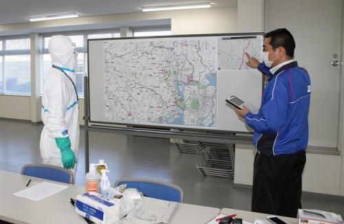 20151202sagawa1 500x326 - 佐川急便/新型インフルエンザ対策訓練