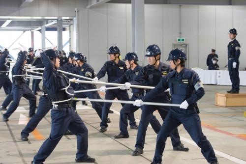 関東警送支店での訓練