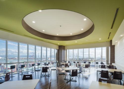 4階食堂カフェテリア