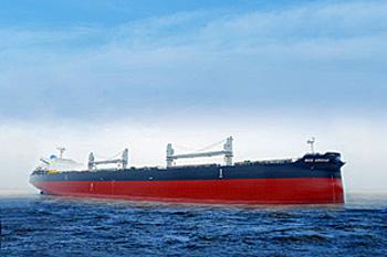 ばら積運搬船「RED ORCHID」