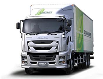 20151224isuzu - いすゞ自動車/大型トラック「ギガCNG車」を発表