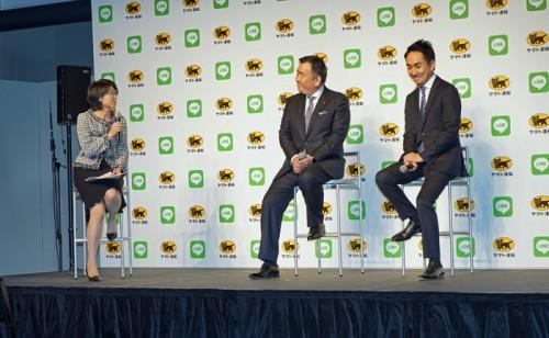 トークセッションでの内田さん、長尾社長、出澤社長