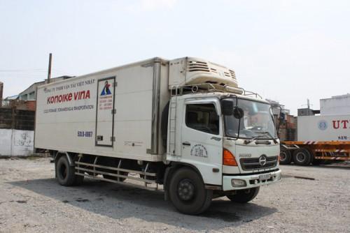 定温・重量物輸送のトラック・トレーラーを中心に導入