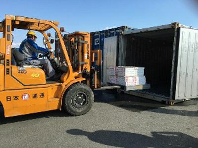 20160129nittsu1 - 日通/徳島県産農産品、シンガポールへの輸送試験をサポート