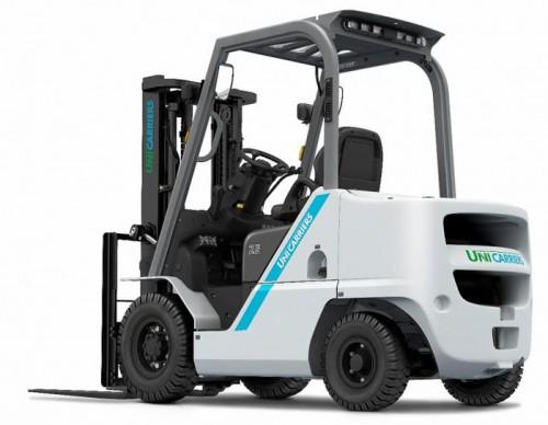 2.5トン ガソリン/LPG エンジン式フォークリフト「FOZE」