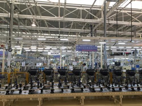 カラワン新エンジン工場
