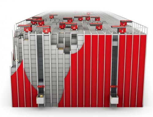 20160311nitori22 500x382 - ニトリ/国内初の積み木型ロボット倉庫稼働、段ボールも形状に合わせ自動化