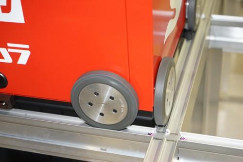 ロボットの車輪部
