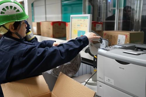 20160311nitori25 500x334 - ニトリ/国内初の積み木型ロボット倉庫稼働、段ボールも形状に合わせ自動化