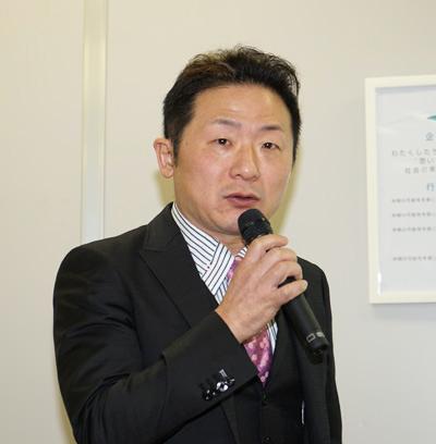 ホームロジスティクスの松浦社長
