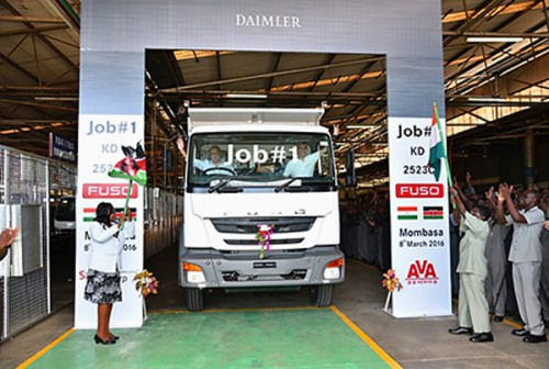 20160314mftb 500x336 - 三菱ふそう/FUSOの新型ラインアップ、ケニアでノックダウン生産