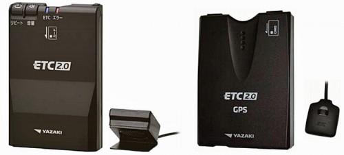 ETC-YP200(左)とETC-YD201(右)