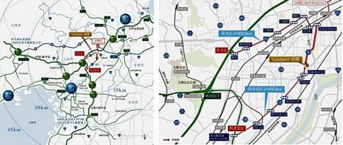 20160407nomura2 500x212 - 野村不動産/大阪府高槻市に8.8万m2の大型物流施設着工