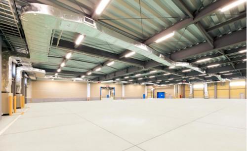 2階倉庫(空調設備設置区画)