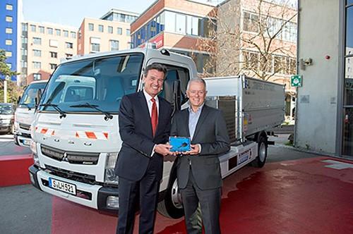 20160412mftbc 500x332 - 三菱ふそう/電気トラックをドイツで初の実用供試