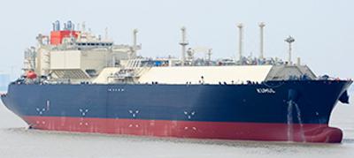 LNG船 KUMUL