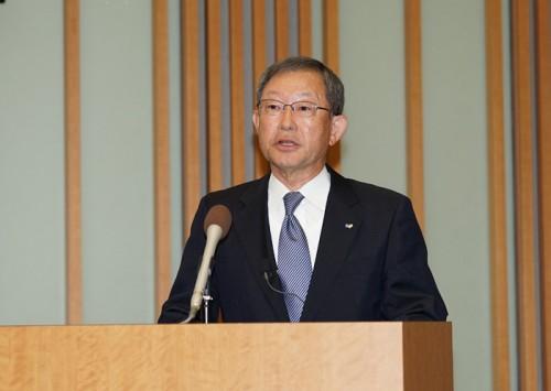 栗和田榮一会長