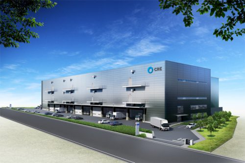 20160512cre 500x333 - CRE/埼玉県新座市に2.5万m2の物流施設着工