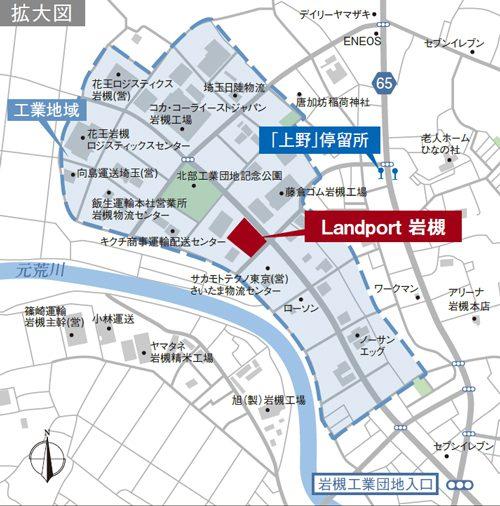 Landport岩槻の完成予想図