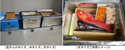 20160525yubin2 500x203 - 日本郵便/クールEMS、新サイズの保冷容器導入
