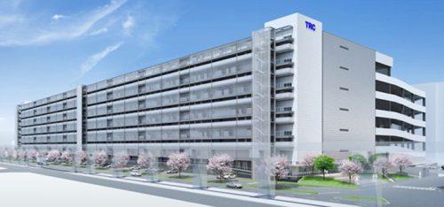 東京流通センター 物流ビルB棟完成予想図
