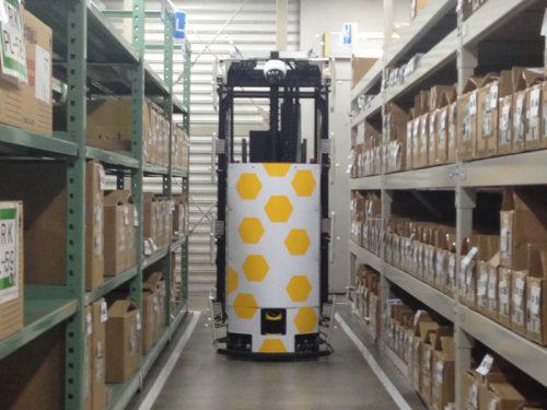 棚卸ロボット3号機