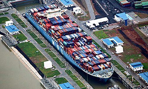 20160705mol 500x303 - 商船三井/新パナマックス型コンテナ船、新パナマ運河を通峡