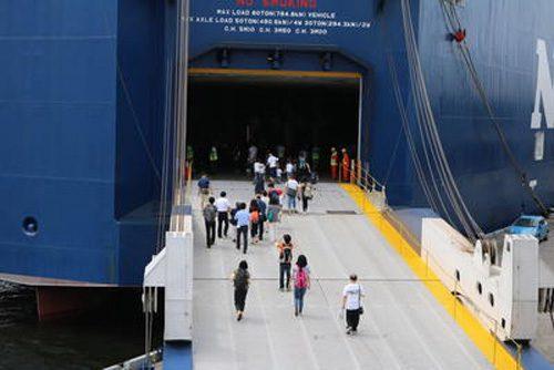 20160727nyk1 500x334 - 日本郵船/横浜港大さん橋での船内見学会・体験乗船会に982名が参加