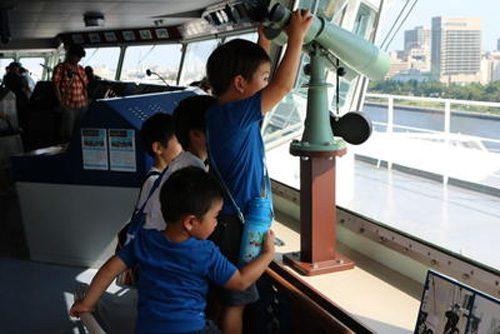 20160727nyk2 500x334 - 日本郵船/横浜港大さん橋での船内見学会・体験乗船会に982名が参加