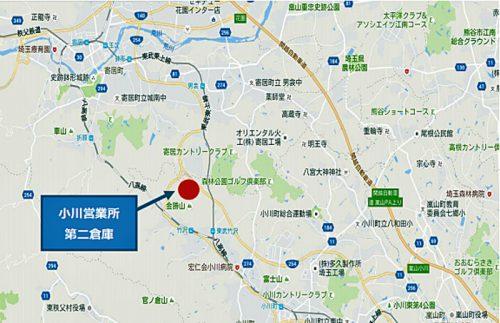 20160804nikkon5 500x323 - 日本梱包運輸倉庫/埼玉県小川町に1.8万m2の倉庫竣工