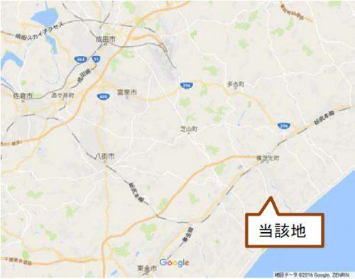 20160824cush1 500x393 - 千葉県の工場・物流・商業用地/3万坪の内覧会、9月6日開催