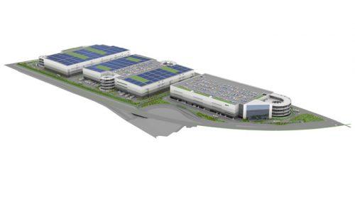 20160906glp2r 500x281 - GLP/千葉県流山市に総延床面積32万m2、3棟の物流施設開発