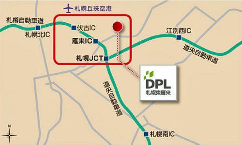 20160916daiwah2 500x299 - 大和ハウス工業/札幌に6.5万m2のマルチテナント型物流施設着工