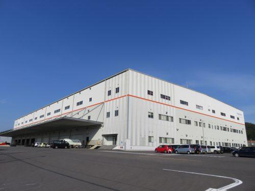 竣工しているメープルツリー足利ロジスティクスセンター1