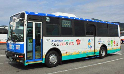 産交バスの外観