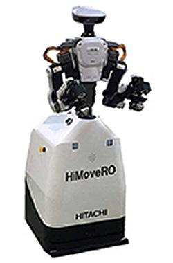 HiMoveRO(下部HiMoveRO、上部カワダロボティクス製双腕ロボットNEXTAGE)