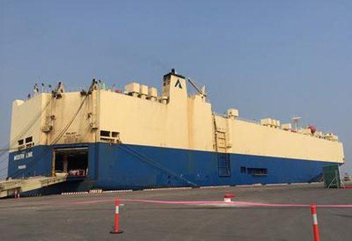 20161011nyk 500x343 - 日本郵船/自動車専用船による初のハイフォン寄港開始